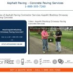 web design for paving contractor