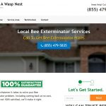 website design and marketing for pest control company