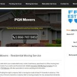 web design for moving company