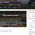 web design for pest control contractor