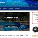 web design for pool service company