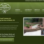 web design for landscaper
